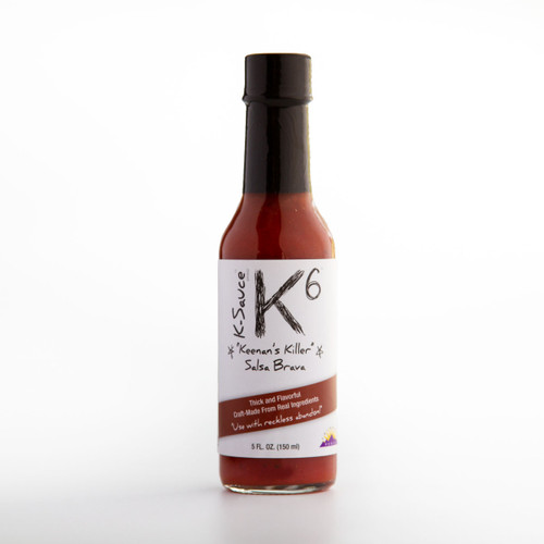 K-6 Salsa Brava Hot Sauce (5 oz.)