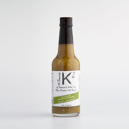 K-2 Mean Green Hot Sauce (10 Oz.)