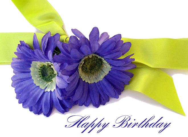 FBD100 - Floral Birthday