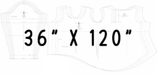 "36"" x 120"" Pattern Printing"