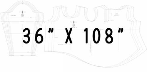 "36"" x 108"" Pattern Printing"