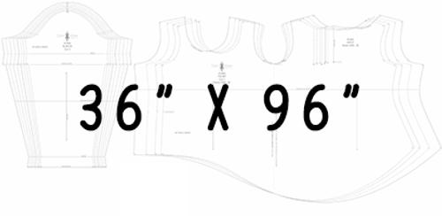 "36"" x 96"" Pattern Printing"