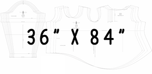 "36"" x 84"" Pattern Printing"