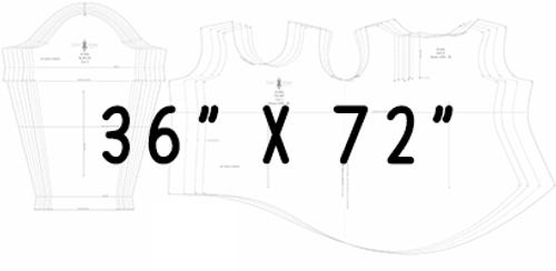 "36"" x 72"" Pattern Printing"