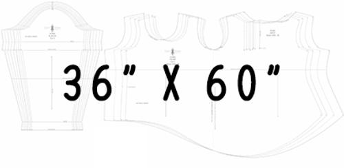 "36"" x 60"" Pattern Printing"