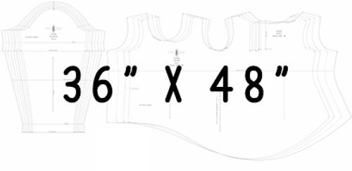 """36"""" x 48"""" Pattern Printing (A0)"""