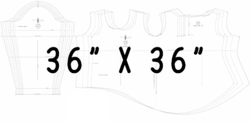 "36"" x 36"" Pattern Printing"