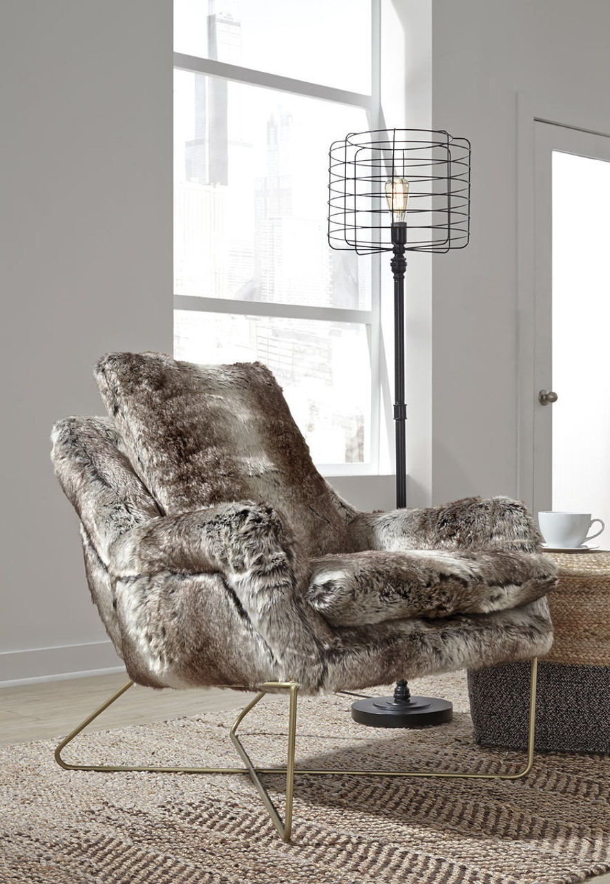 Amazing Wildau Gray Accent Chair Caraccident5 Cool Chair Designs And Ideas Caraccident5Info