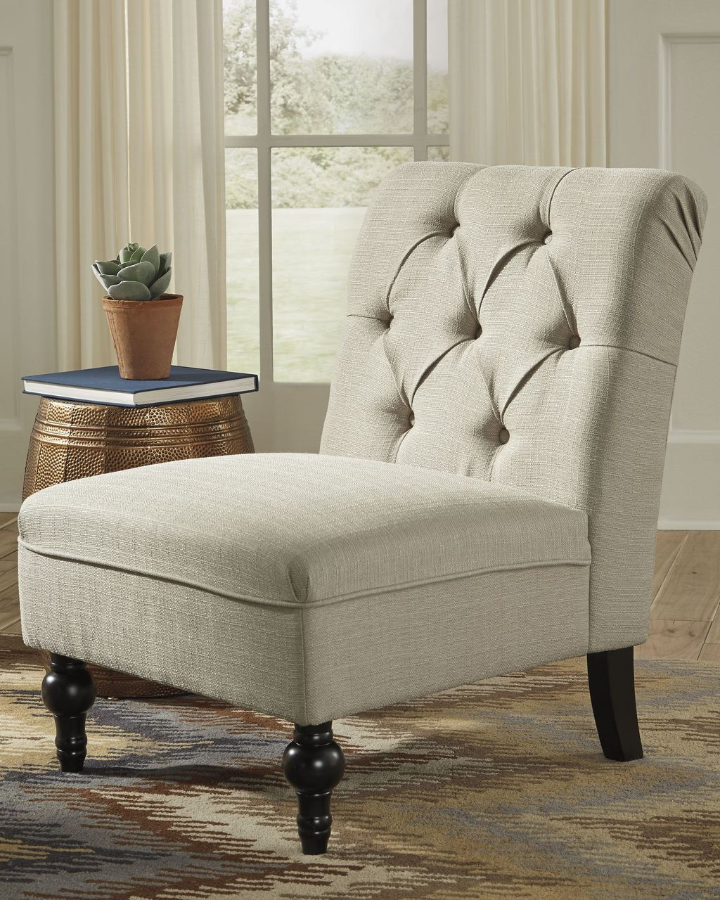 Incredible Degas Oatmeal Accent Chair Creativecarmelina Interior Chair Design Creativecarmelinacom