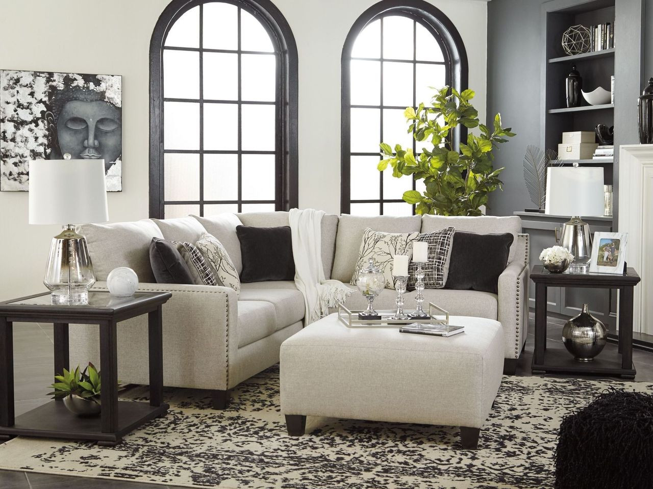 Awe Inspiring Hallenberg Fog Laf Sofa With Corner Wedge Raf Loveseat Sectional Onthecornerstone Fun Painted Chair Ideas Images Onthecornerstoneorg