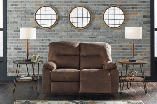 Bolzano Coffee Reclining Loveseat