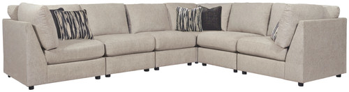 Kellway Bisque 6-Piece Sectional