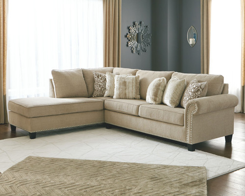 Dovemont Putty 2 Pc. Left Arm Facing Corner Chaise, Right Arm Facing Sofa Sectional