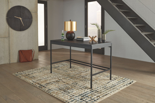 Yarlow Black Home Office Desk