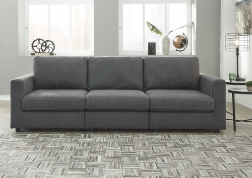 Candela Charcoal 3-Piece Sectional