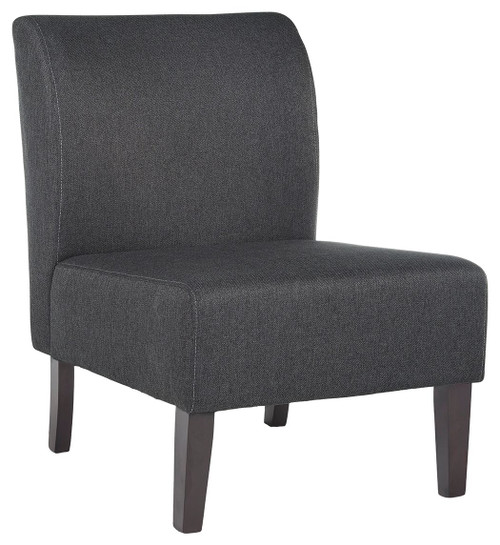 Triptis Charcoal Gray Accent Chair