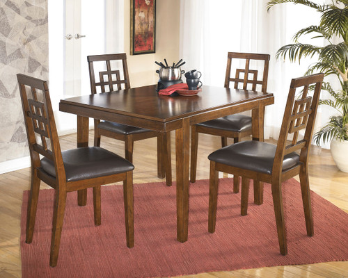 Cimeran Medium Brown 5 Pc. Rectangular Dining Set