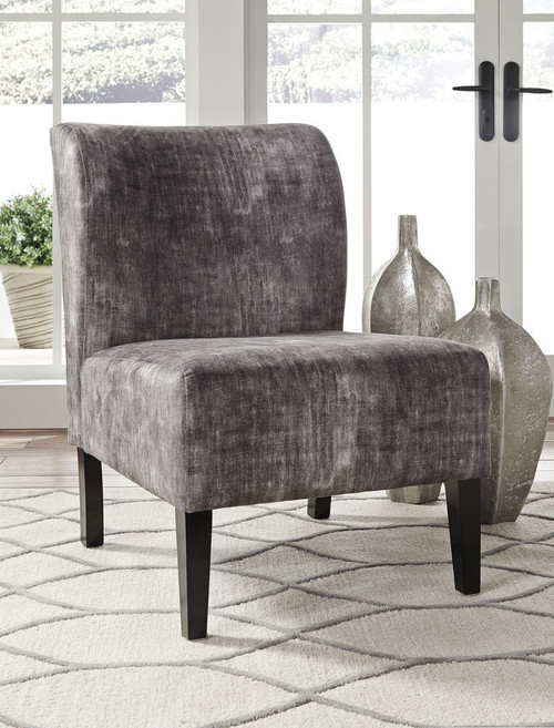 Triptis Charcoal Accent Chair