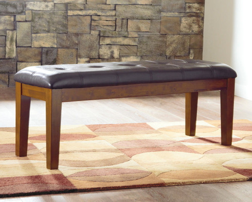 Ralene Medium Brown Large UPH Dining Room Bench