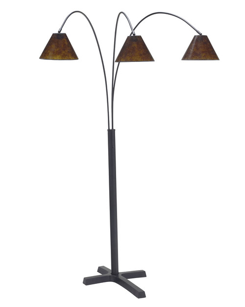 Sharde Black Metal Arc Lamp (1/CN)