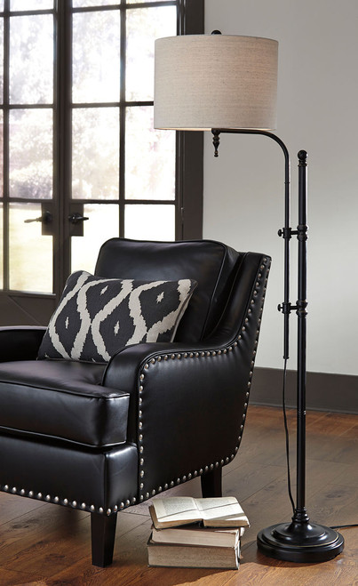 Anemoon Black Metal Floor Lamp (1/CN)