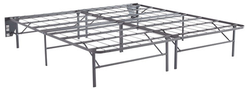 Better Than A Boxspring Gray King Foundation (2/CN)