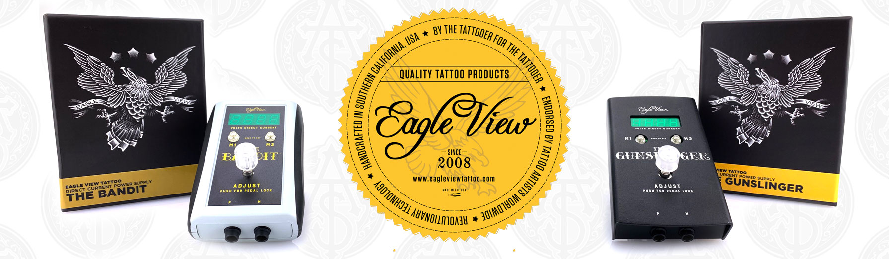 Eagle View DC Power Supplies  -  Alliance Tattoo Supply