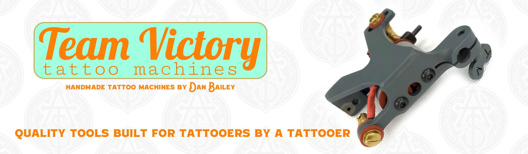 Team Victory Tattoo Machines - Alliance Tattoo Supply