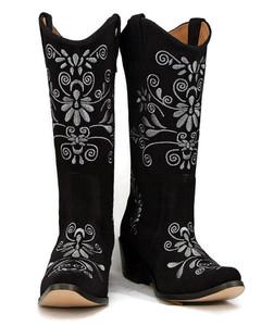 Jasmine Cowgirl Black w/Dk. Grey Stitch