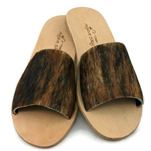Cowhide Flats - Brindle (tiger stripe)