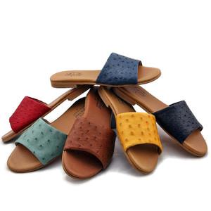 Ostrich Sandals