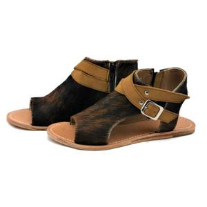 Amber Flat Sandal