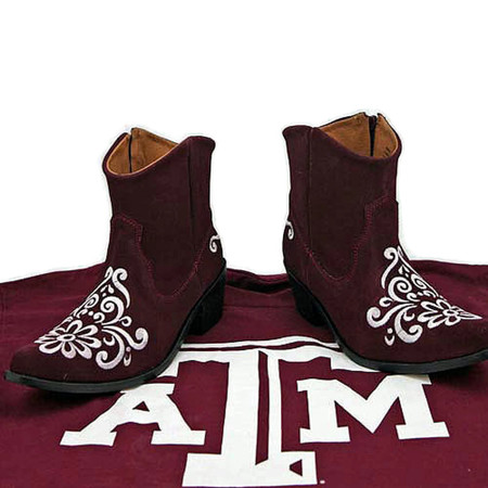 A & M GameDay Ankle Boots
