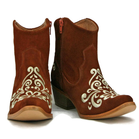 UT Longhorn GameDay Ankle Boots