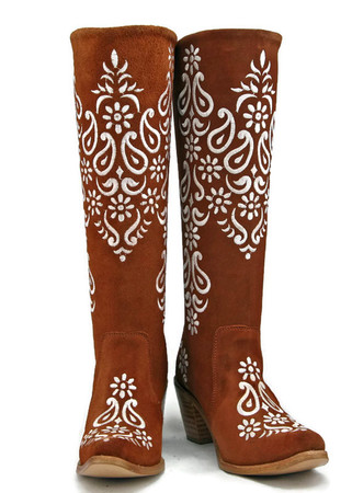 UT Longhorn  GameDay Knee High Boots