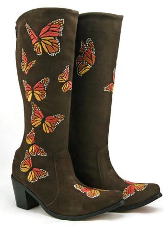 Knee High - Mariposa (Butterfly) Boot