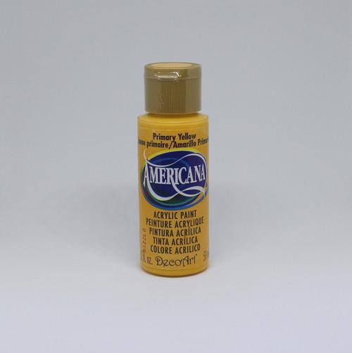 DecoArt Acrylic Paint Yellow 2 Ounce