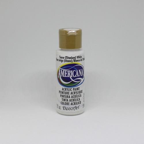 DecoArt Acrylic Paint White 2 Ounce
