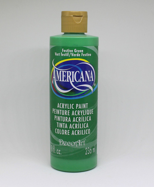 DecoArt Acrylic Paint Green 8 Ounce