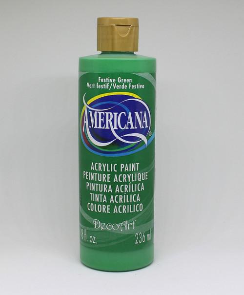 DecoArt Acrylic Paint Green 8 Ounce