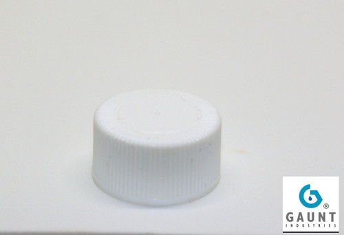 Small Cap No Hole to fit 1 and 2 ounce Luer Lock bottles