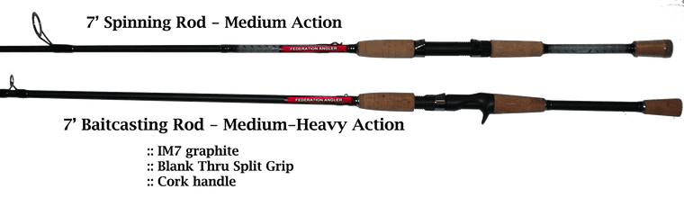 Federation Angler Rod Set INCLUDES 2021 Adult Membership if owed