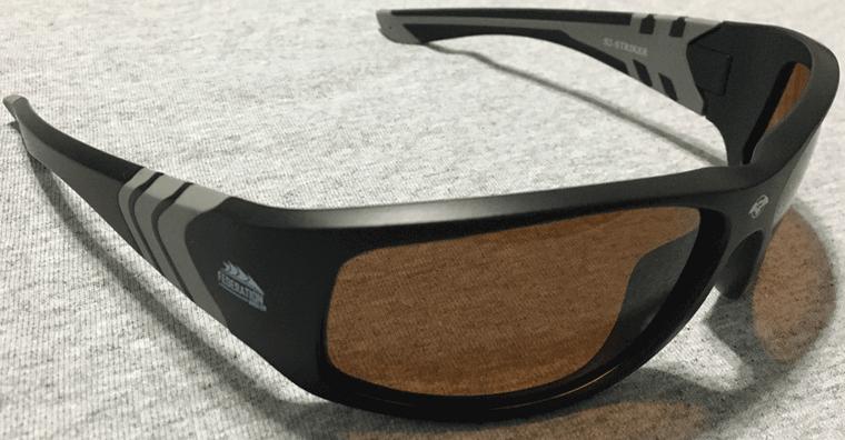 Federation Angler custom S2 Striker Polarized Glasses by Solar Bat, come with microfiber bag!