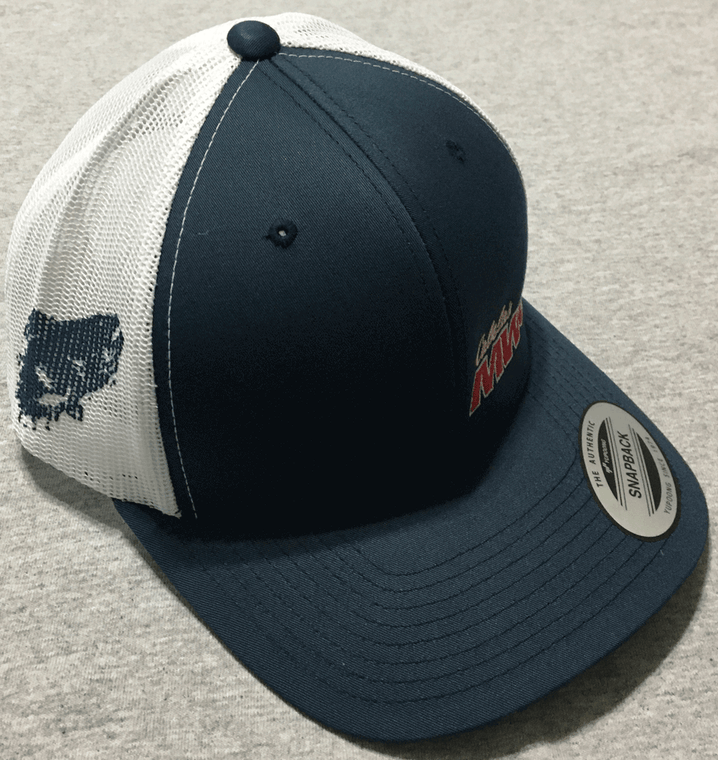 MWC logo hat with MWC fish on side!