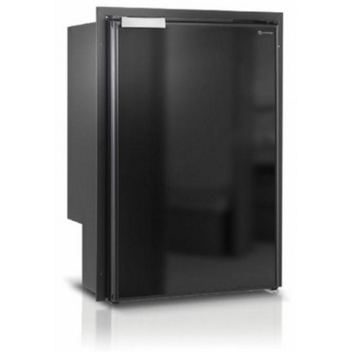 Vitrifrigo C115IBD4-F-1 SeaClassic Refrigerator / Freezer - Volume: 4.2 cubic ft., 3-Sided Flush Mount Flange, Door Swing: Right. Door, and Flange Finish: Black. Power: 12 / 24 Volt DC and 100 - 240 Volt AC. 80 lbs. C115IBD4-F-1. Airlock closure system. Easy panel customization. LED lighting gives the best internal visibility and the lowest energy consumption. 3-year Limited Warranty.