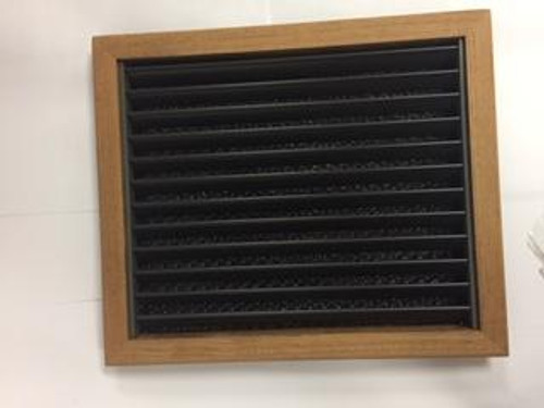 Marine air conditioning teak return air grille. Other sizes and finishes available. If you don't see the size you need please email/call.