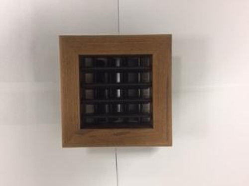 Marine air conditioning teak supply air grille. Other sizes and finishes available. If you don't see the size you need please email/call.
