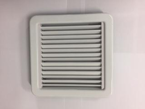 Marine air conditioning white plastic supply air grille. Other sizes and finishes available. If you don't see the size you need please email/call.