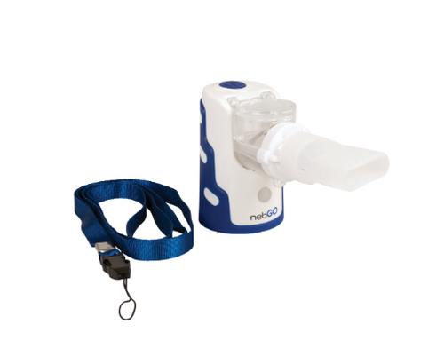 Roscoe nebGO Ultrasonic Handheld Nebulizer with Carrying Tote (NEB-GO)