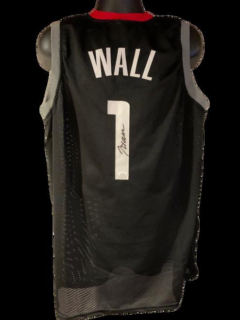 John Wall Authentic Autographed Washington Wizards Black Custom Jersey - JSA COA